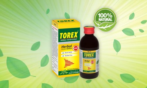 Torex cough syrup for dry cough
