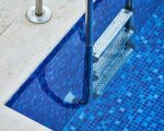 A unique element of decor- Pool tiles!