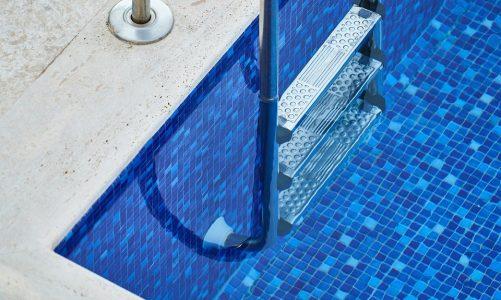 A unique element of decor- Pool tiles!